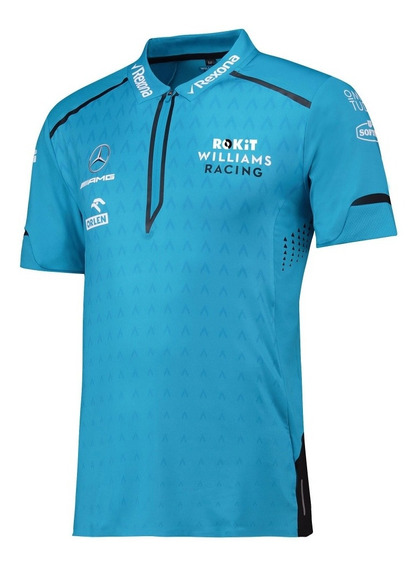 Playera Polo Williams Racing Rokit
