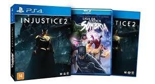 Injustice 2 + Filme Ps4 Mídia Fisica ( Pronta Entrega ! )