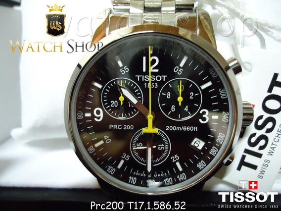 Relógio Tissot Prc200 T17 - Comprovação De Autenticidade