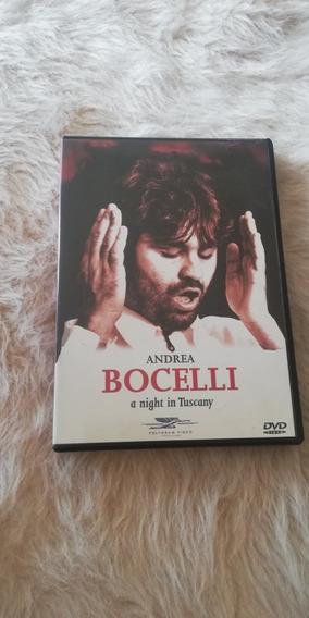 Dvd Andrea Bocelli A Night In Tuscany