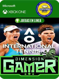 Ao Tennis Internacional - Xbox One - Modo Local + En Linea