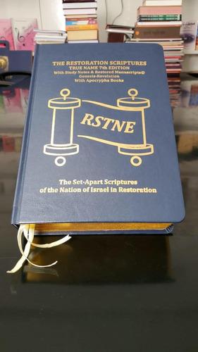 Imagem 1 de 10 de Escrituras De Restauração Verdadeiro Nome 7ª Edição P.u!