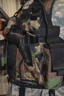 Chaleco Militar Tipo Comando Airsoft Paintball, Balisticos