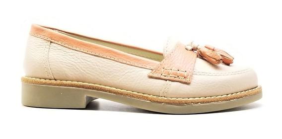 Zapatos Mujer Mocasines Sol Cuero Goma Tibay Calzados