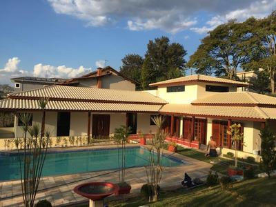 Linda Casa Ibiúna 3.000 Mts Condomínio Fechado Oportunidade!