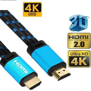 Ultra Hd Alta Velocidad Hdmi De Uhd V2.0 Cable 4k Hdr, 3d,