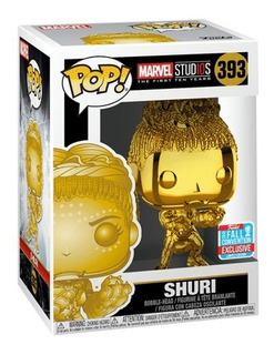 Funko Pop! Shuri Gold Chrome Exclusive Nycc Marvel Studios