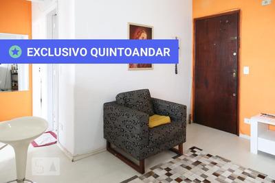 Apartamento No 1º Andar Mobiliado Com 2 Dormitórios E 1 Garagem - Id: 892862285 - 162285