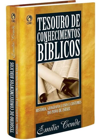 Livro Tesouro De Conhecimentos Bíblicos / Emílio Conde