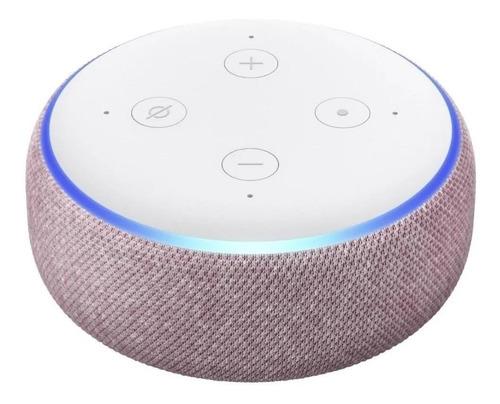 Imagen 1 de 3 de Amazon Echo Dot 3rd Gen con asistente virtual Alexa plum 110V/240V