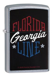Zippo Florida Georgia Line Bolsillo Más Ligero, Calle Cro