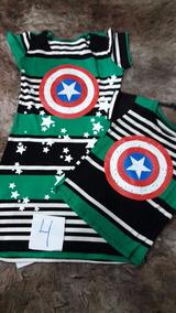 Kits Mãe Filho Vestido E Camiseta - Tecido Viscoliycra