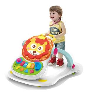 Caminador 4 En 1 Comedor Bebe Andadera Didactico Niño Niña