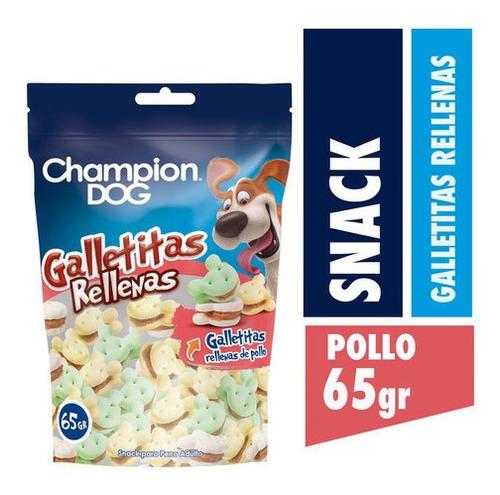 Champion Dog Snack Galletitas Rellenas 12x65g
