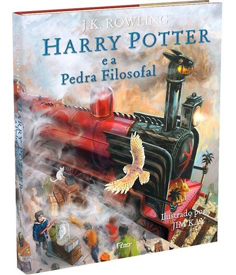 Livro Harry Potter E A Pedra Filosofal Ilustrado