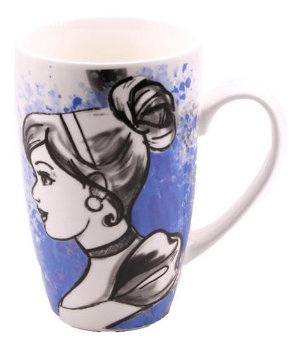 Caneca De Porcelana Disney Princesa Cinderela 400ml