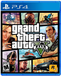 Gta V Ps4 Fisico Sellado Entrega Inmediata / Chacao