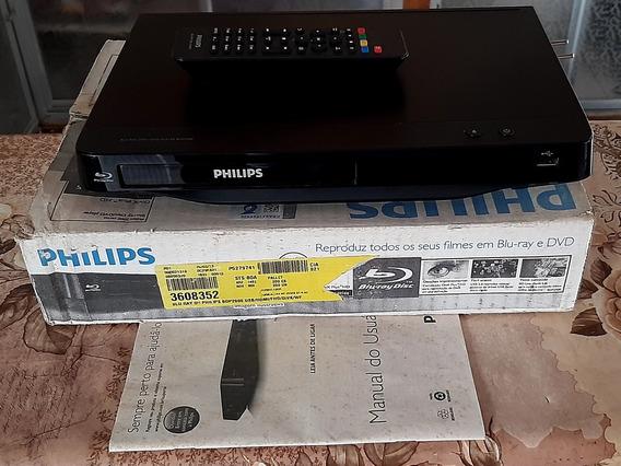 Blu-ray Player Philips Bdp 2900x/78 ( Usado Leia O Anúncio)