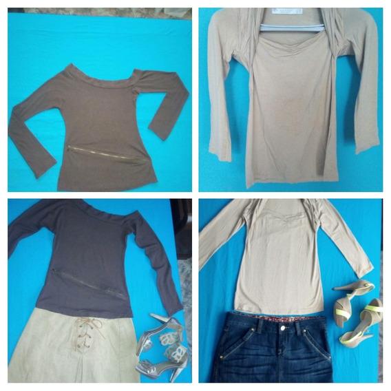 f77cc34037c3 Franelas Zara Para Mujer - Ropa, Zapatos y Accesorios en Mercado ...