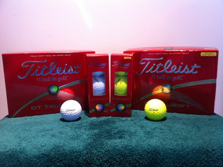 Pelotas De Golf Titleist Dt Trusoft ( Nuevas En Su Caja)