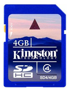 Tarjeta de memoria Kingston SD6 4GB