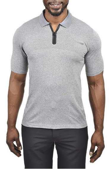 Exclusiva Polo Seamless Copper Fit Pro Performance M L Xl Lt Grey