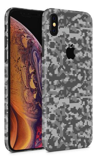 Skin Pixel Cammo 2 Para Telefonos Apple iPhone