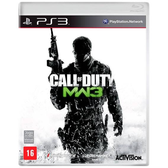 Jogo De Tiro Call Of Duty Cod Ps3 Seminovo