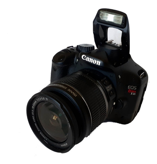 Câmera Canon Rebel T2i + Bolsa Lowepro Rezo 170 Aw