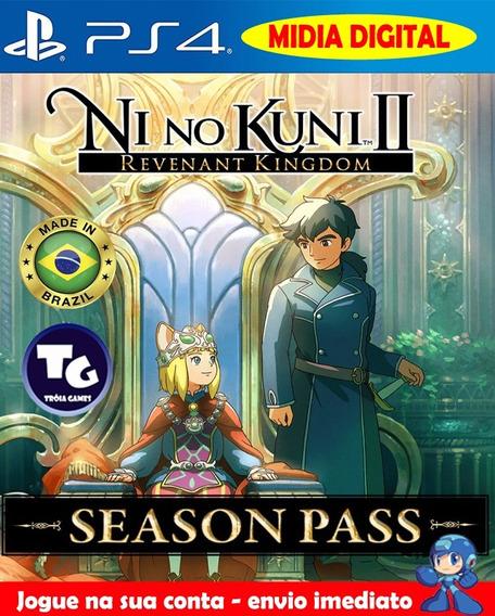 Ni No Kuni 2 Revenant Kingdom + Dlcs - Aluguel 16 Dias