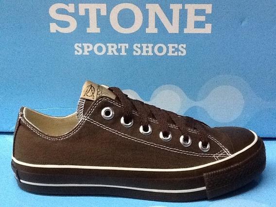 Zapatillas Stone Lona Promoción 34 Al 42 Local Microcentro