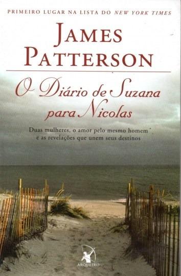 Livro O Diário De Suzana Para Nicolas James Patterson