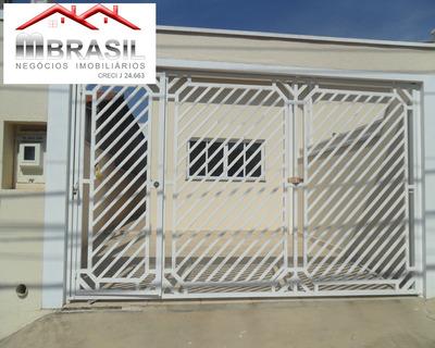 Casa Nova A Venda, Jardim Monte Verde, Indaiatuba, Sp - Ca04855 - 32839267