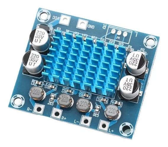 Amplificador 2.0 Tecnologia Digital 60wrms Stéreo Original