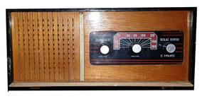 Rádio Antigo Duploson Original De Época Funcionando