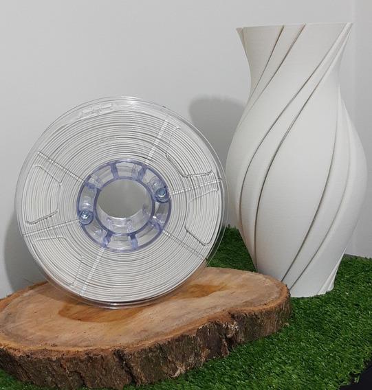 Filamento Pla 1,75mm Argila - Alto Teor De Pureza 1kg