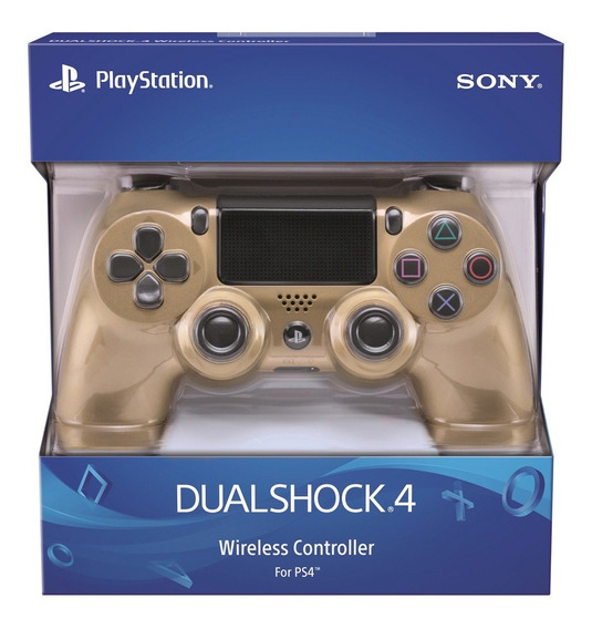 Joystick Dualshock Gold Ps4