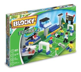 Blocky Futbol 165 Piezas Bloques Ladrillos Educando