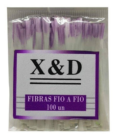 100 Fibra De Vidro X&d Xd Fio A Fio Unha Alongamento Gel Uv