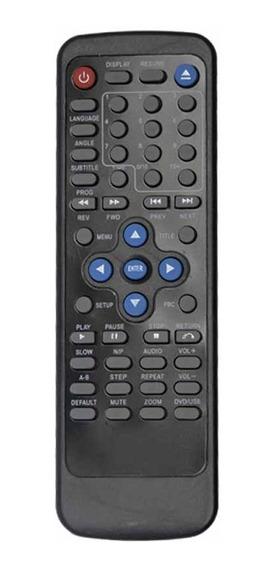Kit Com 2 Peças Controle Remoto Para Dvd Cce Dvd-580usx