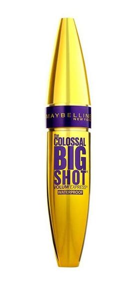Rímel Colossal Big Shot Very Black Maybelline A Prova Dágua