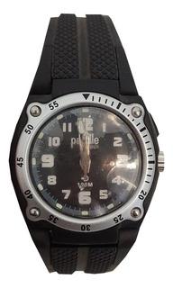 Reloj Infantil Paddle Watch Negro Goma Resist Agua Mod 27227