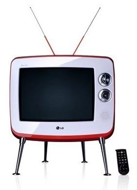 Televisão Lg Retro 14 Barbearia Salão Loja Decoração Antiga