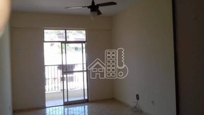 Apartamento Com 2 Dormitórios À Venda, 71 M² Por R$ 395.000 - Ingá - Niterói/rj - Ap2190