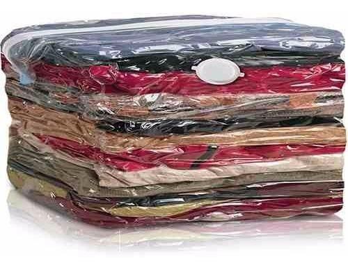 Saco A Vacuo Organizador Roupa Edredon Cobertor 70x110 C