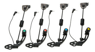Lixada 4 Pcs Set Led Hanger Sensor Swinger Iluminado