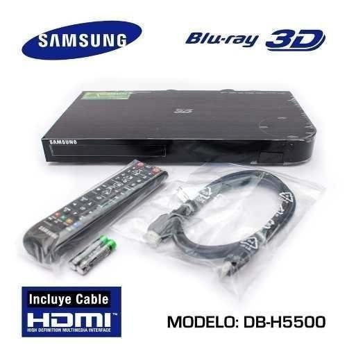 Blu-ray Dvd Samsung Bd-h5500 3d Con Netflix Bbc Iplayer Hd