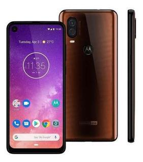 Celular Motorola Moto One Vision 128gb 6.3 Xt1970 Bronze