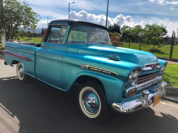 Chevrolet Apache Fleetside - Cabina De Lujo