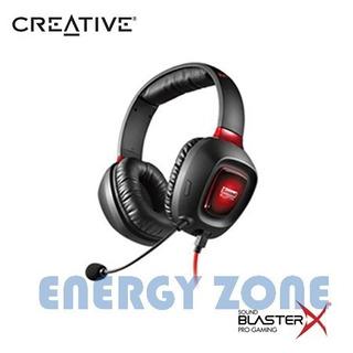 Audifono Con Microfono Creative Tactic 3d Rage Usb Black